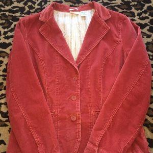 Women's Corduroy Jacket & Pants Set